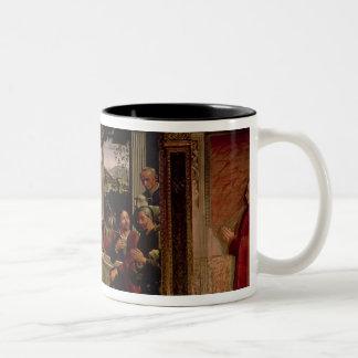 The Birth of Christ Two-Tone Coffee Mug