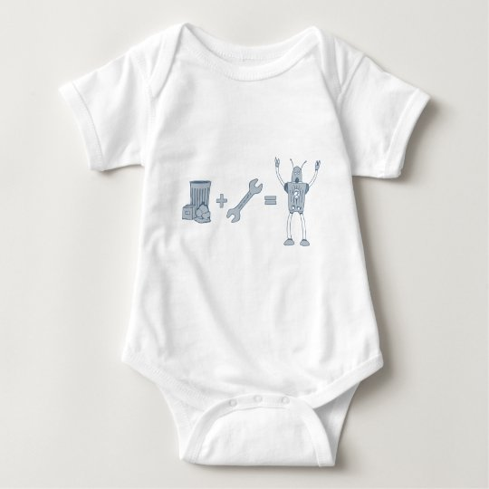The Birth of Garbot Baby Bodysuit