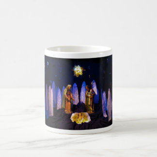 The Birth of Jesus Christ Bethlehem Nativity Scene Coffee Mug