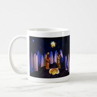The Birth of Jesus Christ Bethlehem Nativity Scene Mug