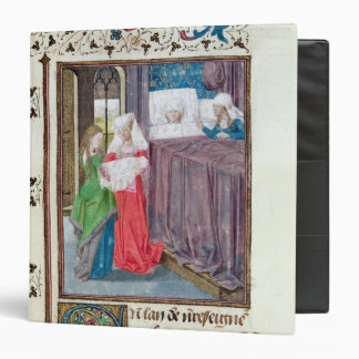The Birth of Louis 3 Ring Binder