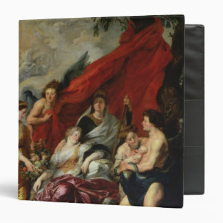 The Birth of Louis XIII  at Fontainebleau Vinyl Binder