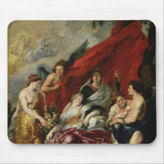 The Birth of Louis XIII  at Fontainebleau Mouse Pad