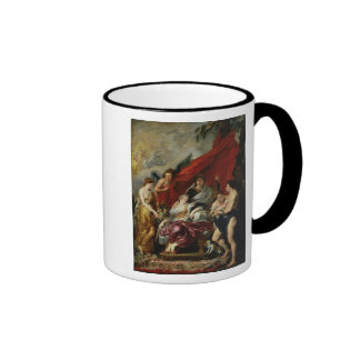 The Birth of Louis XIII  at Fontainebleau Ringer Coffee Mug