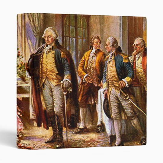 """""""The Birth Of Old Glory"""" 3 Ring Binder"""