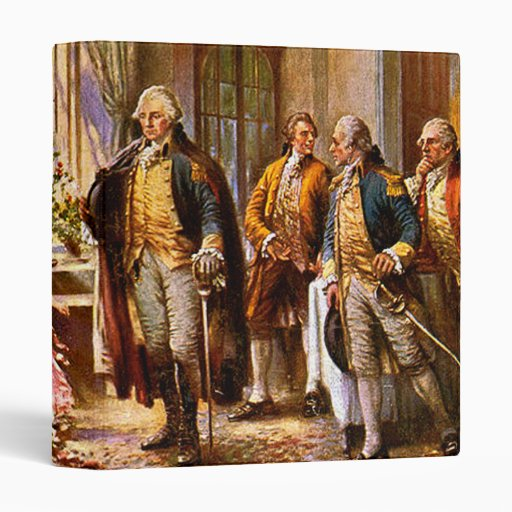 """""""The Birth Of Old Glory"""" 3 Ring Binders"""