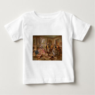 The Birth of Old Glory by Percy Moran c1917 Baby T-Shirt