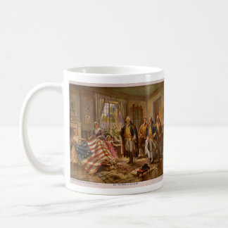 The Birth of Old Glory by Percy Moran Classic White Coffee Mug
