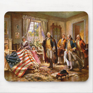 """""""The Birth Of Old Glory"""" Mouse Pad"""