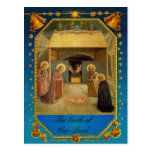 The birth of Our Lord - Nativity Postcards