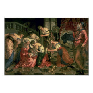The Birth of St. John the Baptist, 1550-59 Poster