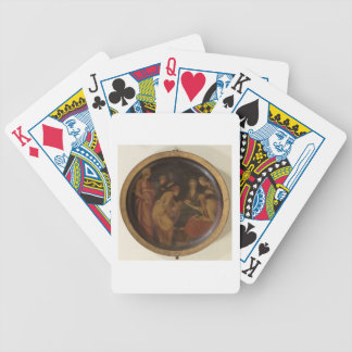 The Birth of St. John the Baptist, c.1526 (oil on Bicycle Playing Cards