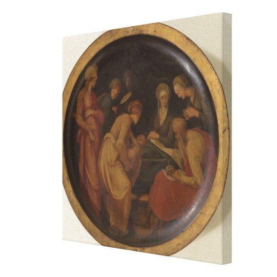 The Birth of St. John the Baptist, c.1526 (oil on Canvas Print