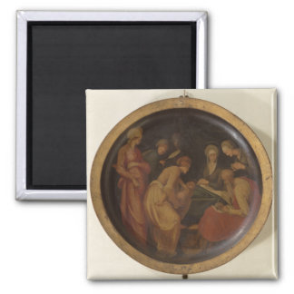 The Birth of St. John the Baptist, c.1526 (oil on Refrigerator Magnets