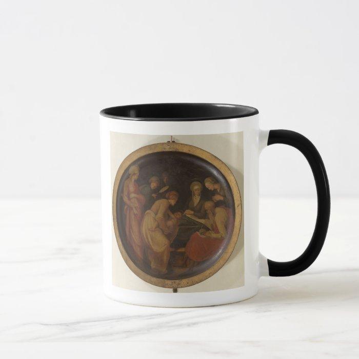 The Birth of St. John the Baptist, c.1526 (oil on Mug