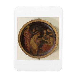The Birth of St. John the Baptist, c.1526 (oil on Magnet