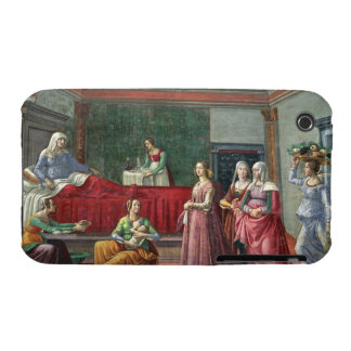 The Birth of St. John the Baptist (fresco) (see al Case-Mate iPhone 3 Cases