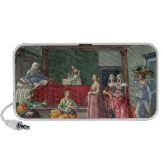 The Birth of St. John the Baptist (fresco) (see al Travel Speakers