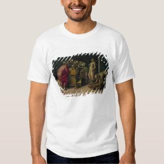 The Birth of St. John the Baptist (oil on panel) T Shirts
