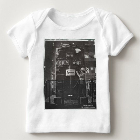 The Birth of The Penn Central Railroad Baby T-Shirt