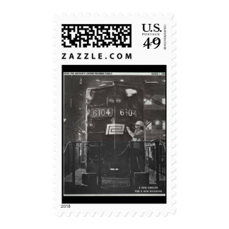 The Birth of The Penn Central Railroad Postage