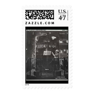 The Birth of The Penn Central Railroad Postage Stamp