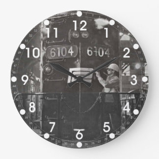 The Birth of The Penn Central Railroad Wall Clock