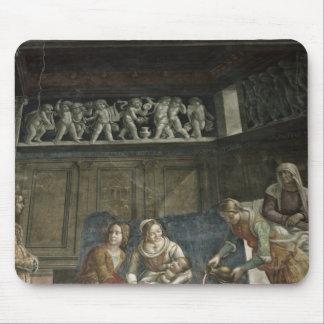 The Birth of the Virgin, 1485-90 Mouse Pad