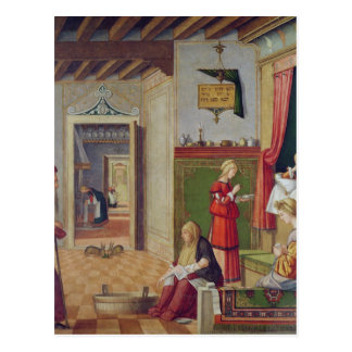 The Birth of the Virgin, 1504-08 Postcard