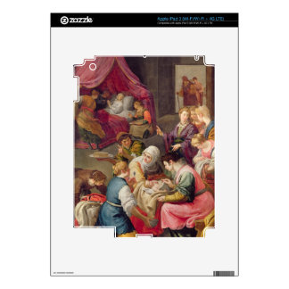 The Birth of the Virgin, 1640 (oil on canvas) iPad 3 Decal