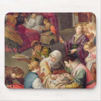 The Birth of the Virgin, 1640 (oil on canvas) Mouse Pad