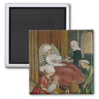 The Birth of the Virgin, c.1500 Magnet