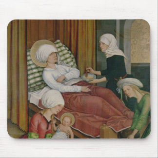 The Birth of the Virgin, c.1500 Mouse Pad