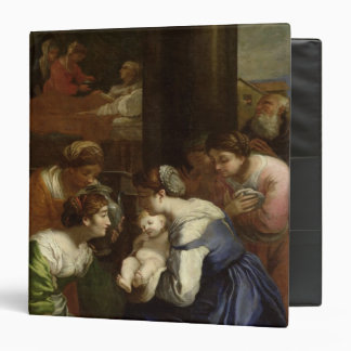 The Birth of the Virgin, c.1620 3 Ring Binders