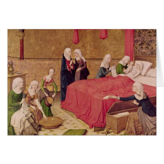 The Birth of the Virgin Card