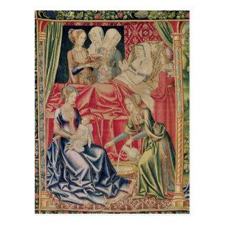 The Birth of the Virgin Postcard