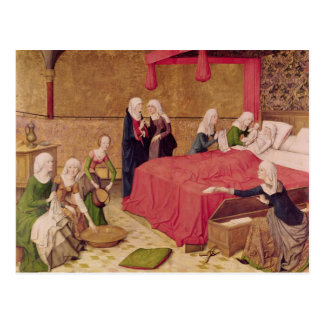 The Birth of the Virgin Postcard