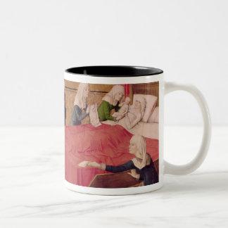 The Birth of the Virgin Two-Tone Coffee Mug