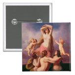 The Birth of Venus, 1846 Button