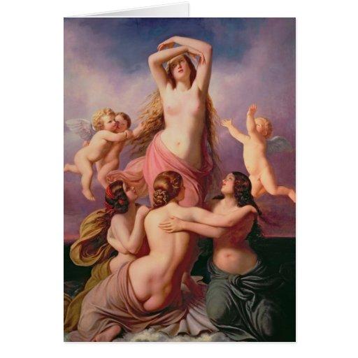 The Birth of Venus, 1846 Greeting Cards