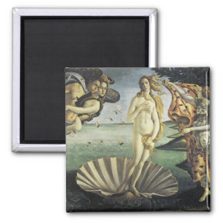 The Birth of Venus 2 Inch Square Magnet