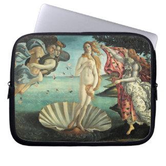 The Birth of Venus Botticelli Laptop Sleeve