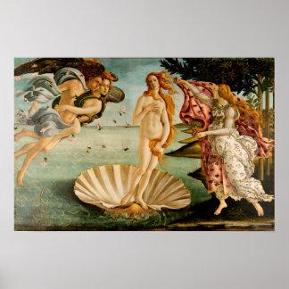 The Birth of Venus | Botticelli Poster