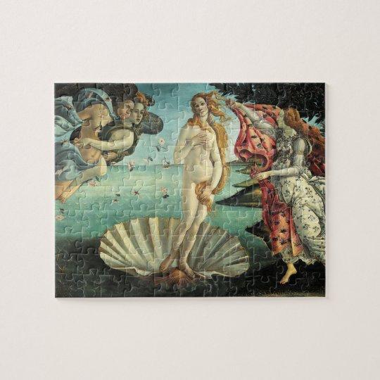 The Birth of Venus Botticelli Puzzle
