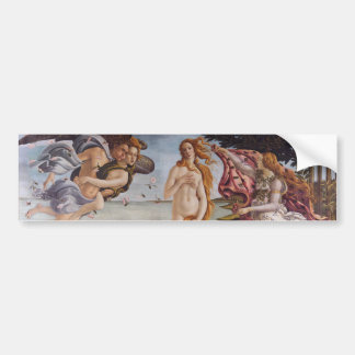 The Birth of Venus Bumper Sticker