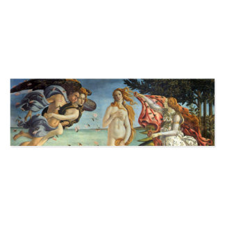 The Birth of Venus by Botticelli, Renaissance Art Pack Of Skinny Business Cards