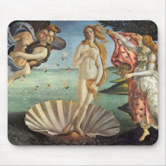 The Birth of Venus by Botticelli, Renaissance Art Mouse Pad