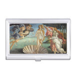 The Birth of Venus by Botticelli, Renaissance Art Business Card Holders