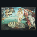 "The Birth of Venus by Sandro Botticelli Cloth Placemat<br><div class=""desc"">Please visit my store for more interesting design and more color choice. =&gt;     zazzle.com/iwheels*</div>"