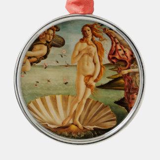 The Birth of Venus by Sandro Botticelli Metal Ornament